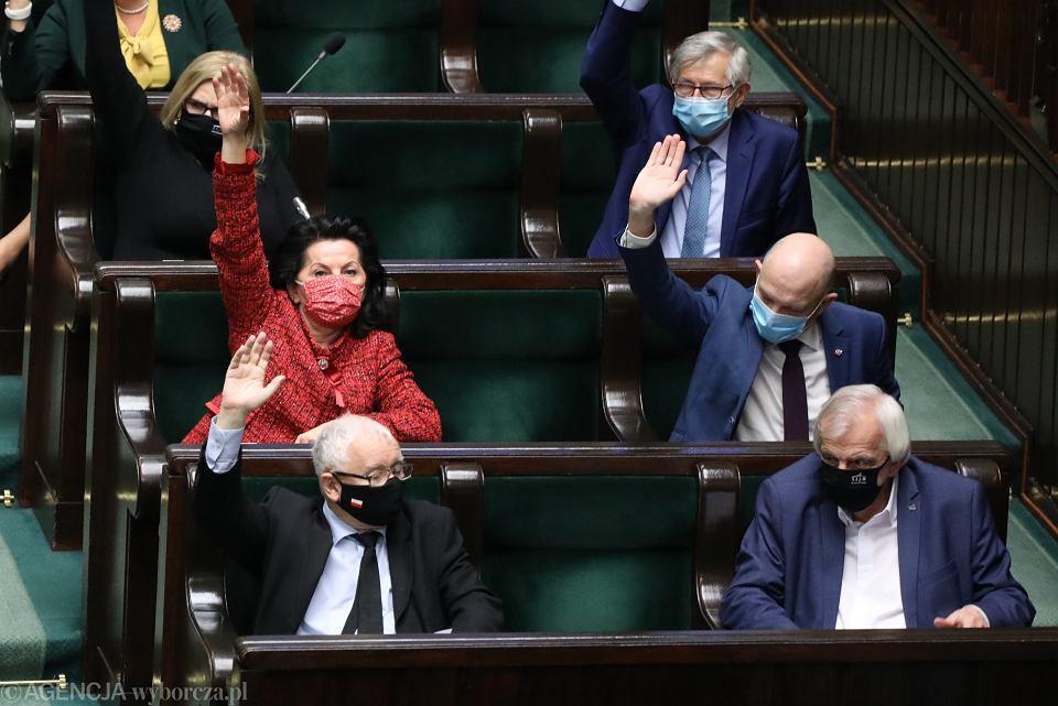 19.11.2020, głosowania w Sejmie