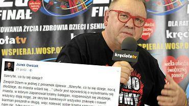Jurek Owsiak i jego wpis