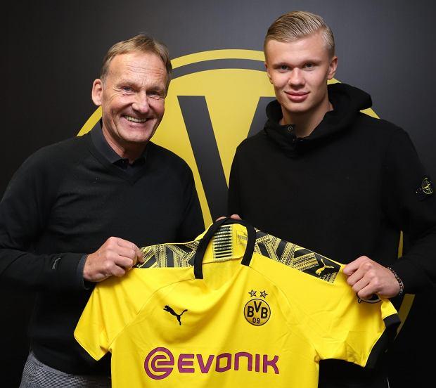 Erling Braut Haaland piłkarzem Borussii Dortmund