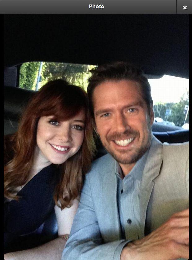 Alyson Hannigan i Alexis Denisof