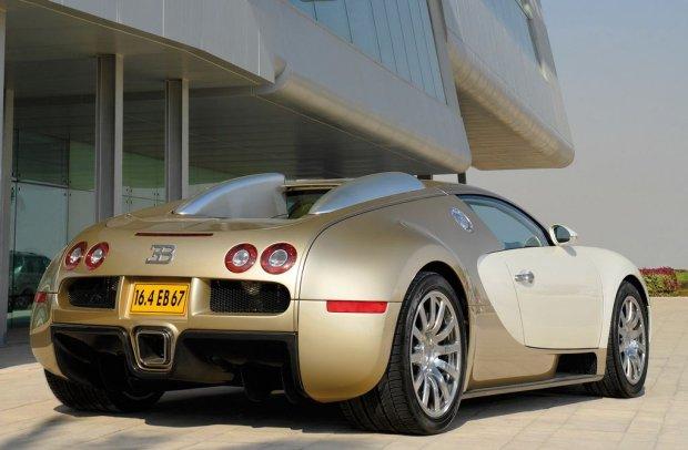 Bugatti Veyron Gold Edition 2009