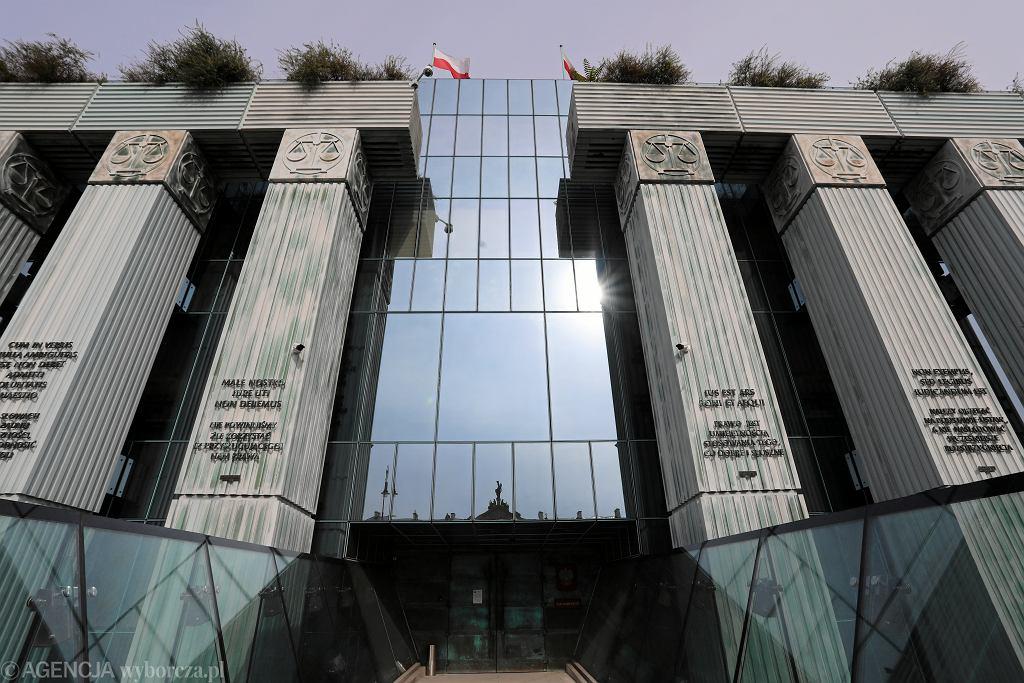 Sąd Najwyższy na pl. Krasińskich w Warszawie
