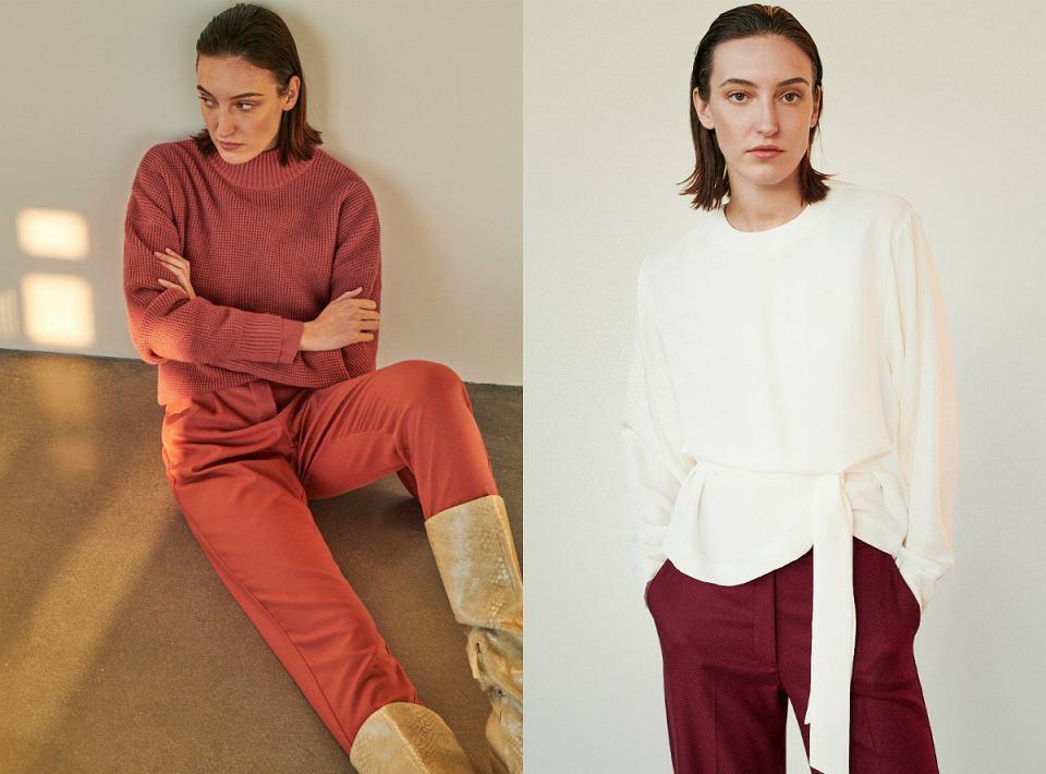 Bluzki i swetry z kapsułowej kolekcji Reserved