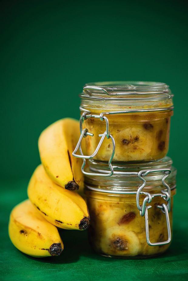 Chutney bananowy z rodzynkami
