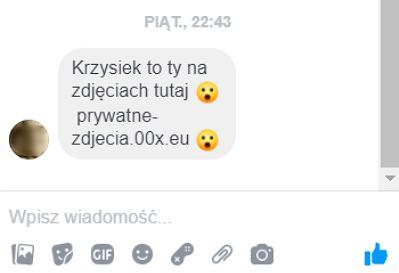 Sfałszowane wiadomości na Facebooku