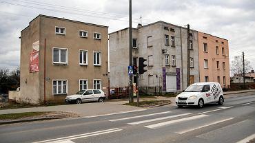 Ul. Grunwaldzka 204 (pierwszym planie) i 200 w Bydgoszczy