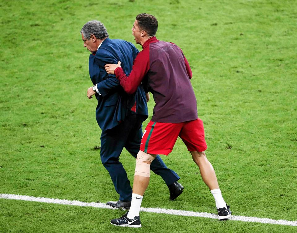 Zdjęcie numer 0 w galerii - Euro 2016. Jak Cristiano Ronaldo został drugim trenerem Portugalii [ZDJĘCIA]