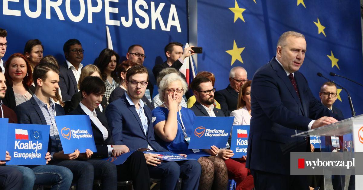 1f9444d580 Rada krajowa PO. Schetyna  Tu jest Polska