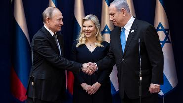 Władimir Putin, Benjamin i Sara Netanjahu