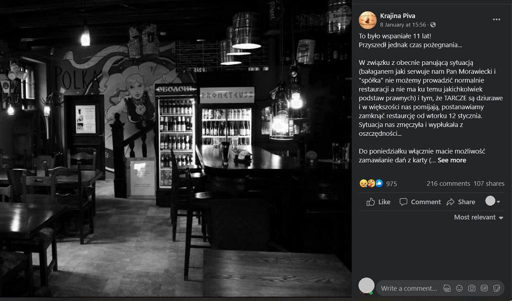 Toruń: Mieli zamknąć popularną knajpę. Fani stanęli murem. Wtem... kradzież i włamanie