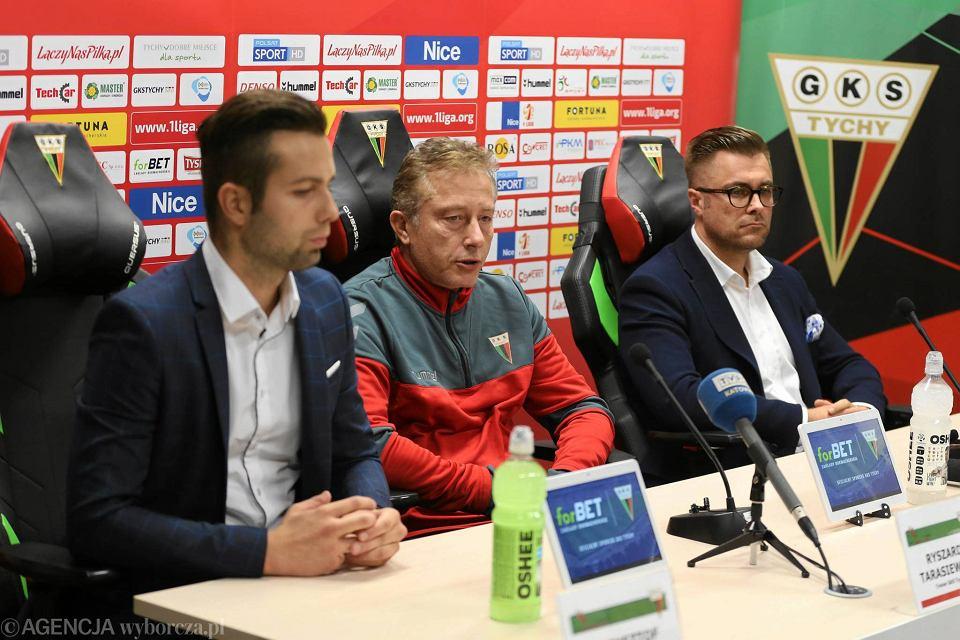 Krzysztof Trzosek, Ryszard Tarasiewicz oraz Grzegorz Bednarski