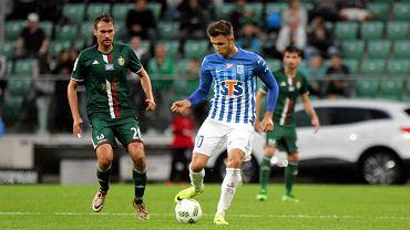 Śląsk Wrocław - Lech Poznań 0:0. Dariusz Formella