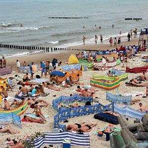 Nadbałtycka plaża (zdjęcie ilustracyjne)