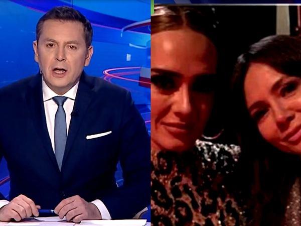 """""""Wiadomości"""" TVP wyśmiały Kingę Rusin. Oberwało się też Szycowi. Tak żenującego materiału nie widzieliśmy już dawno"""