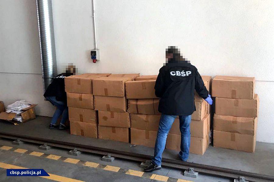 CBŚP przejęło 3 tony haszyszu i 517 kilogramów APAA. Sam haszysz był wart około 60 mln zł