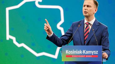 Wybory prezydenckie 2020. Konwencja Władysława Kosiniaka-Kamysza w G2A Arenie w Jasionce