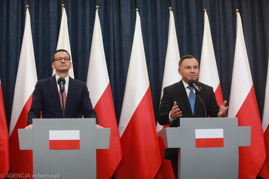 Mateusz Morawiecki, Andrzej Duda