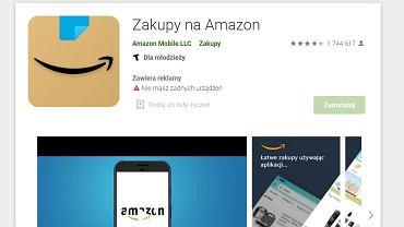 Amazon zmienia logo aplikacji mobilnej