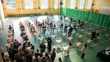 Egzamin maturalny / zdjęcie ilustracyjne