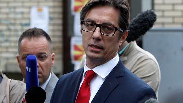 Macedonia Północna. Wybory prezydenckie wygrywa Stewo Pendarowski