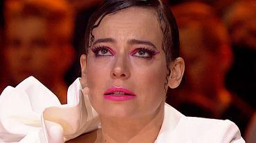 Anna Mucha zalała się łzami w