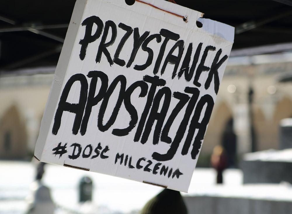 Tak protestowano w Krakowie