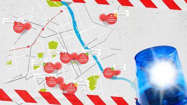 Wypadki Warszawa