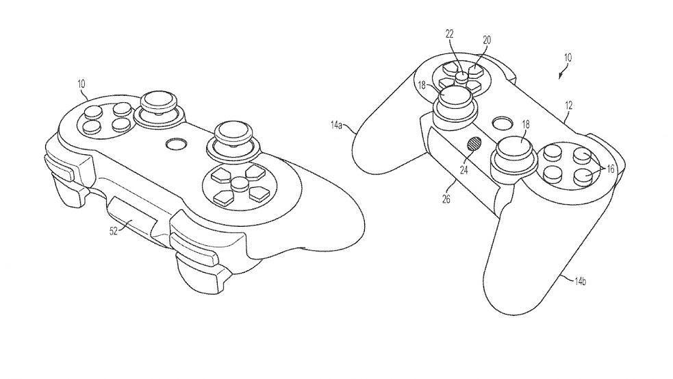 Patent do DualSense