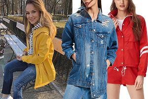 kurtka na wiosnę, kurtka jeansowa, kurtka sportowa