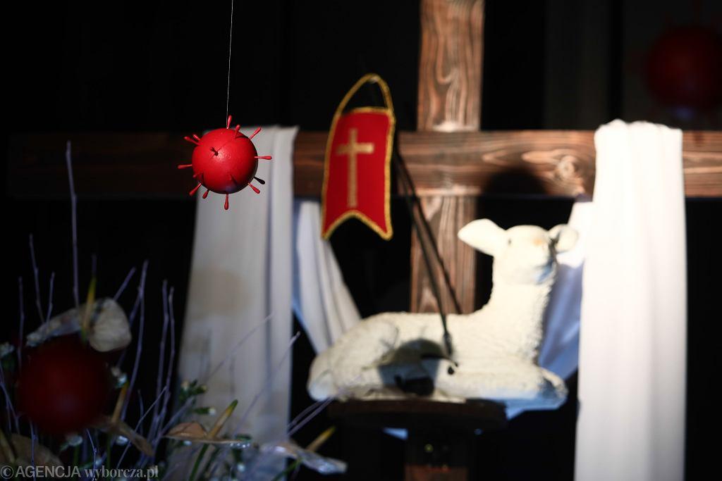Rzecznik KEP na temat obostrzeń obowiązujących w kościołach. Kościół Bonifratów w Krakowie w kwietniu 2020