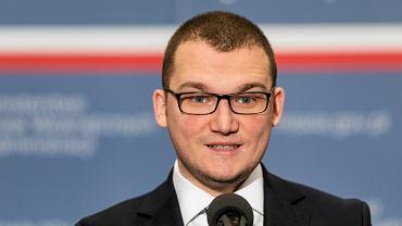 Wiceminister Spraw Wewnętrznych i Administracji Paweł Szefernaker