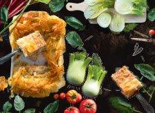 Placek z fenkułem, mangoldem i kozim serem - ugotuj