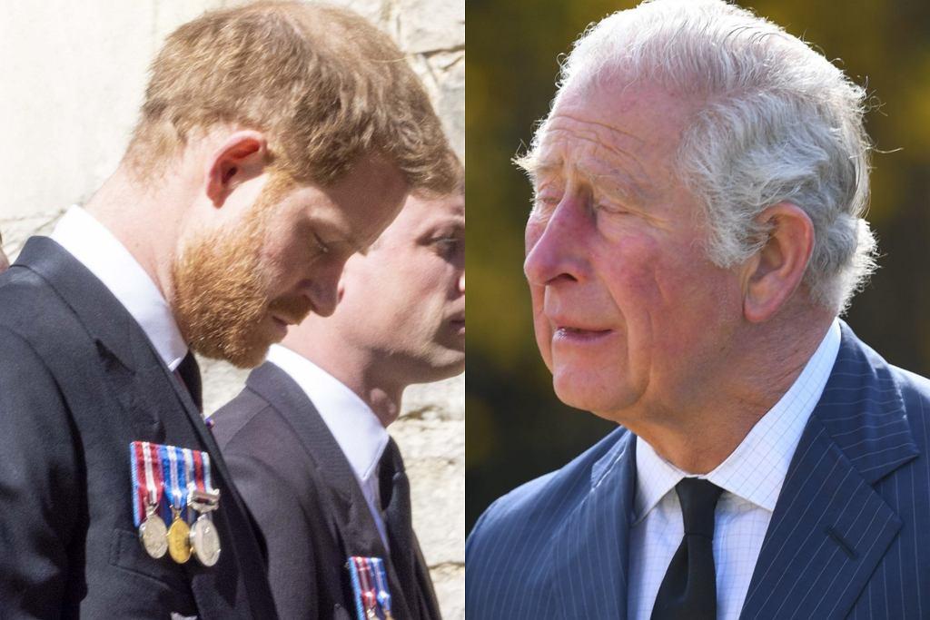 Książę Harry nie spotkał się z księciem Karolem przed ...
