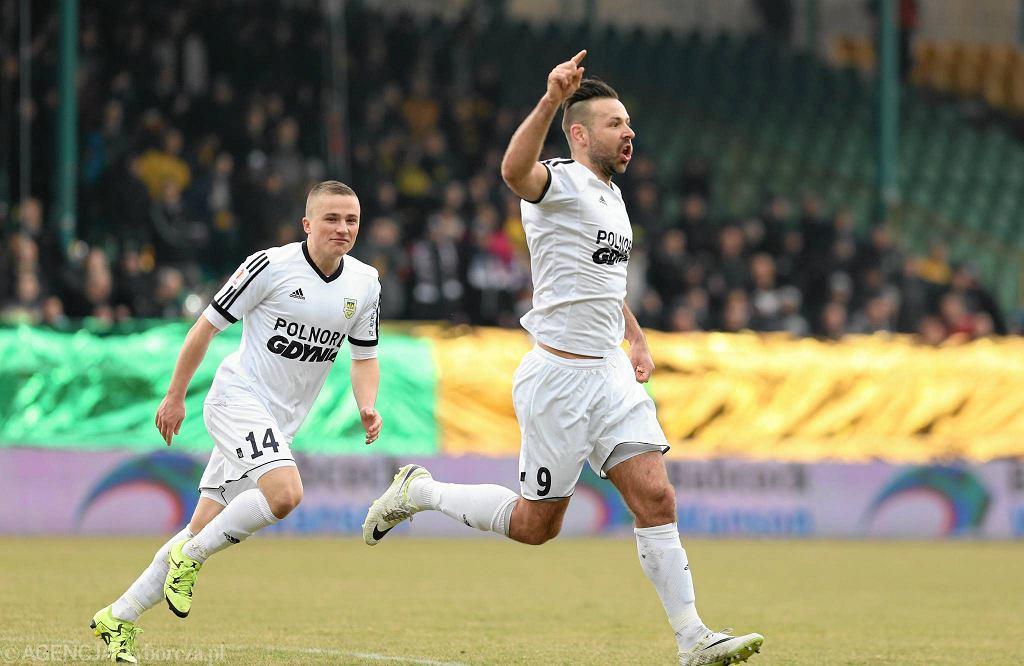 GKS Katowice - Arka Gdynia, Michał Nalepa i Paweł Abbott