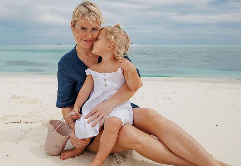Olga Frycz wyjaśnia, czemu zabrała córkę na Malediwy.