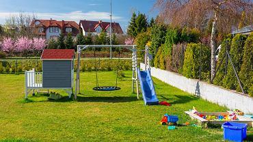 bezpieczna strefa zabawy dla dzieci