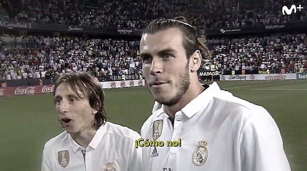 Zaskoczeni piłkarze Realu Madryt