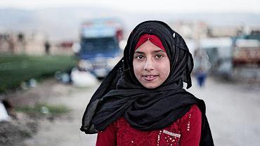 Tahani Mohammad ze względu na wojnę musiała uciec z Syrii.