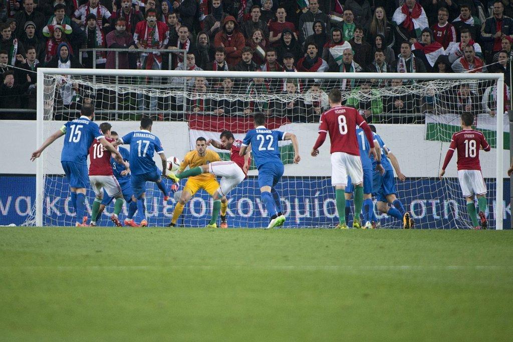 Mecz Węgry - Grecja