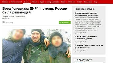 Rosyjski dowódca o wojnie na Ukrainie
