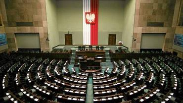 Sala obrad plenarnych Sejmu