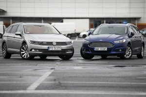 Konfrontacja   Ford Mondeo vs. Volkswagen Passat   Dogonić królika