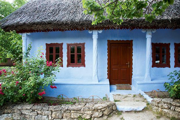 Tradycyjna chata wButuceni