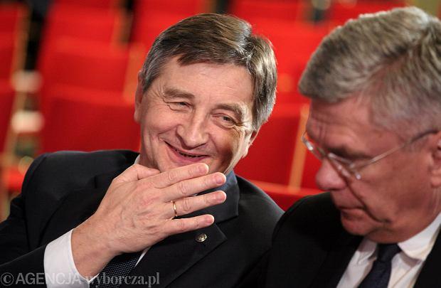 Marek Kuchciński i Stanisław Karczewski. Zdjęcie ilustracyjne