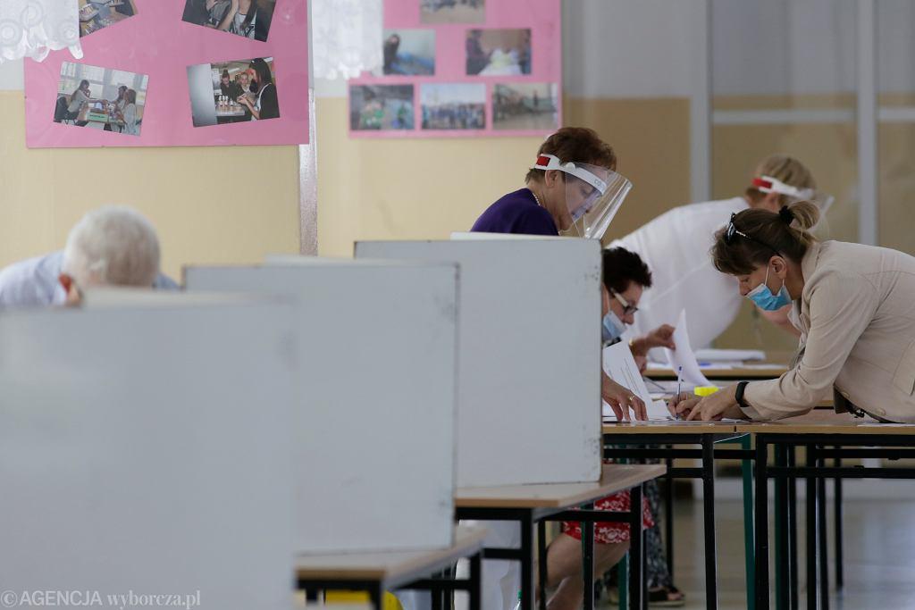 Wybory prezydenckie 2020, druga tura. Głosowanie w Toruniu, 12 lipca 2020