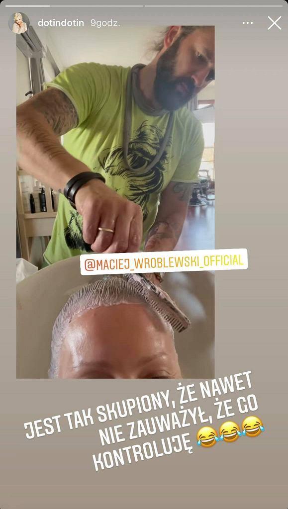 Dorota Szelągowska u fryzjera - postawiła na nowy kolor włosów i cięcie