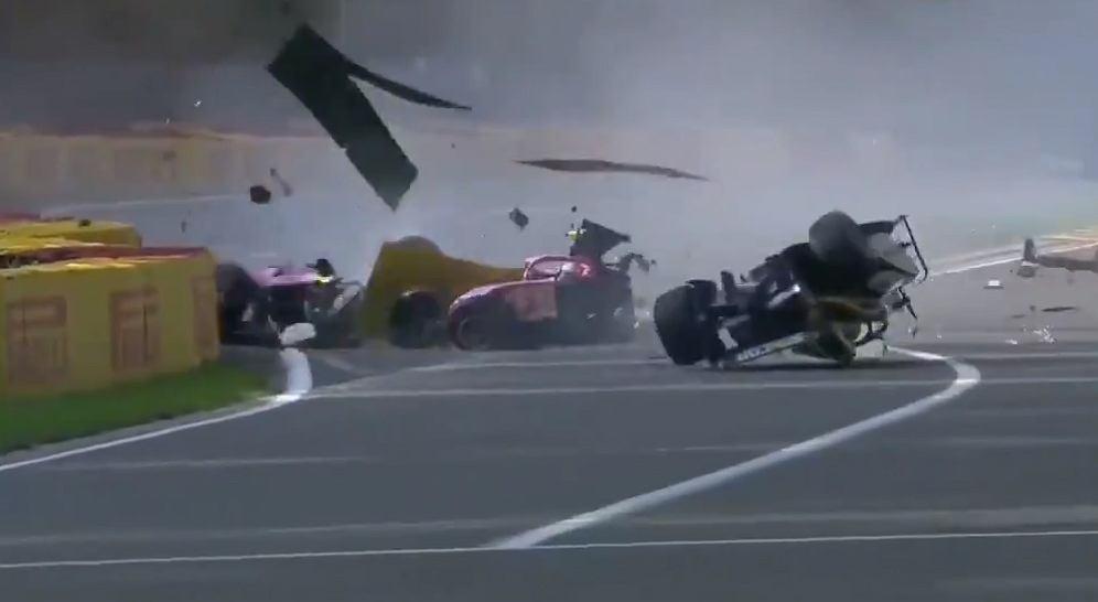 Makabryczny wypadek w F2