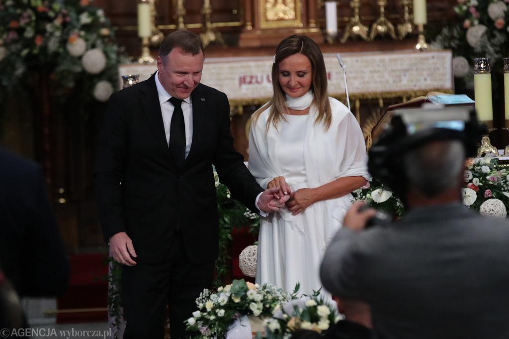 Ślub Jacka Kurskiego