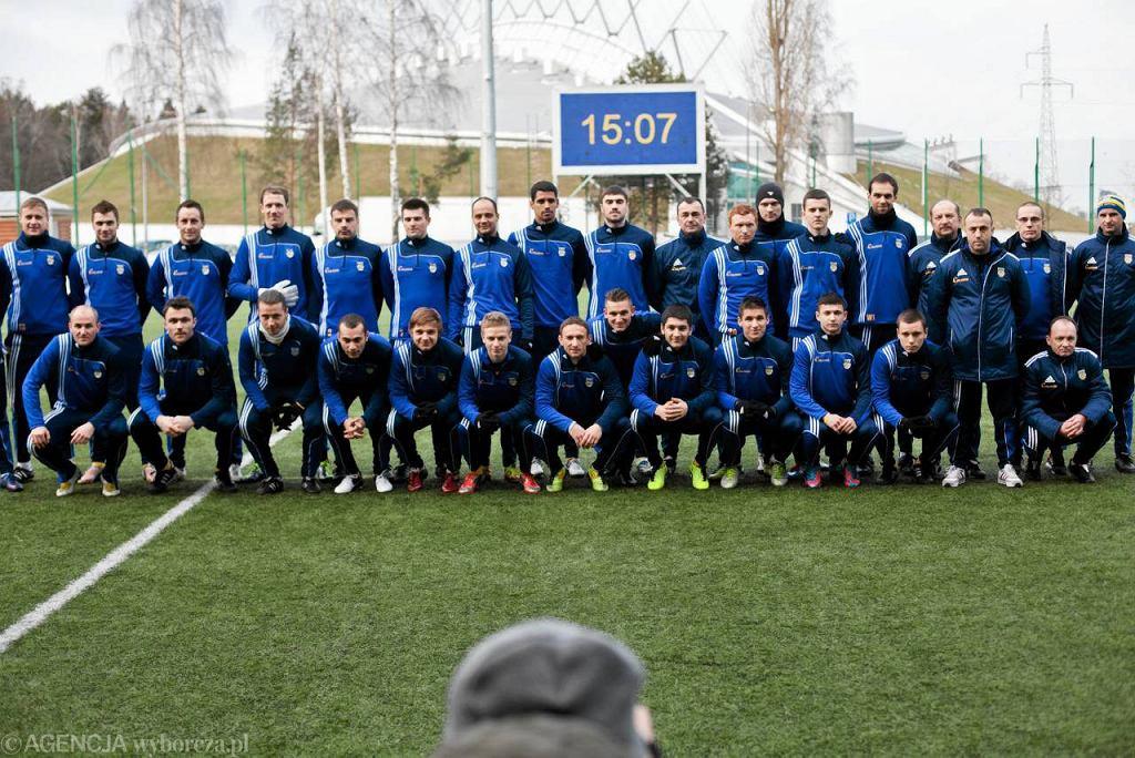 Prezentacja Arki Gdynia przed rundą wiosenną sezonu 2012/2013