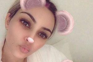 Kim Kardashian z córką Chicago
